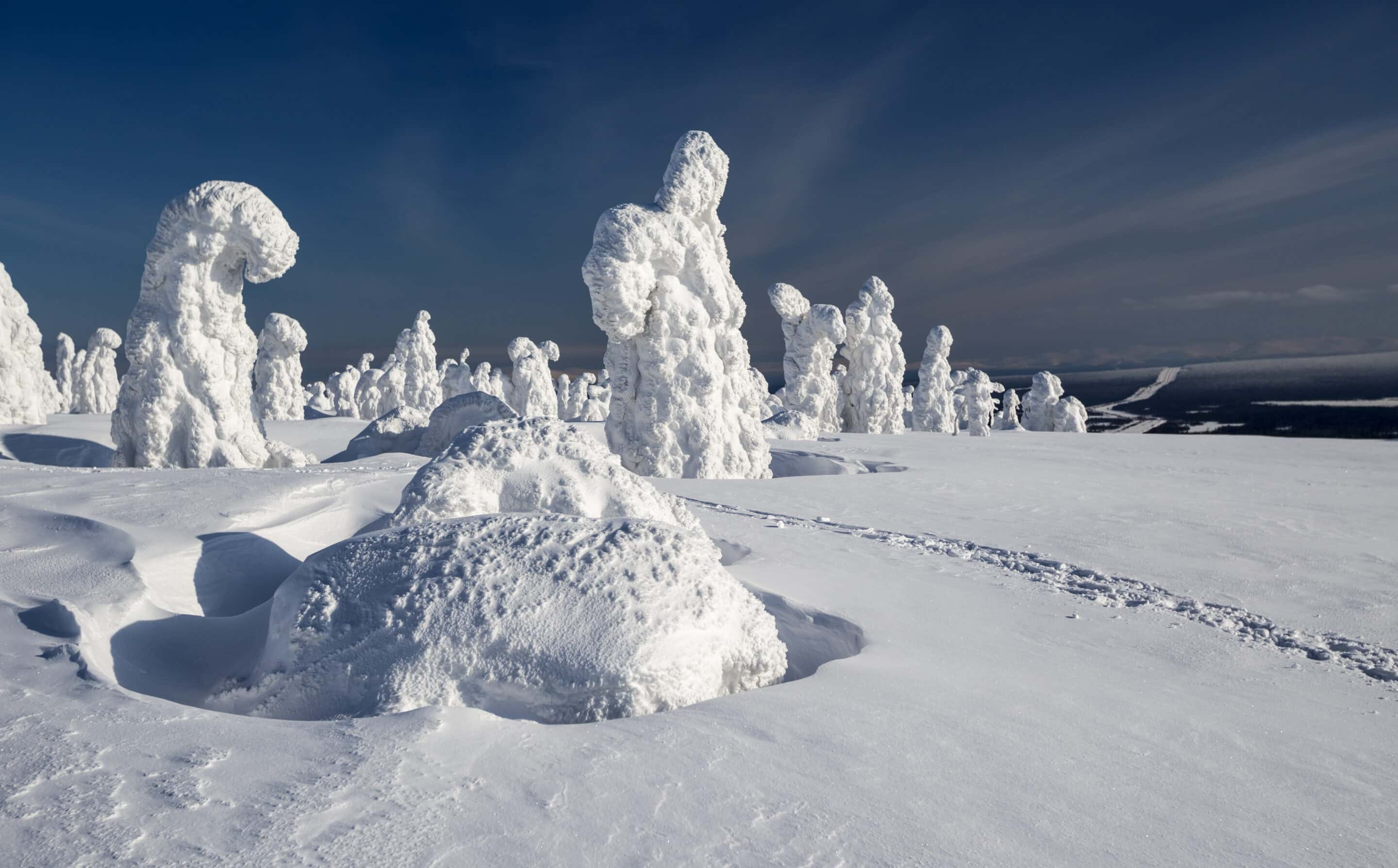 Experience awe-inspiring snow sculptures during Québec City's Winter Carnival. Here you will find life-like sculptures made entirely of snow!