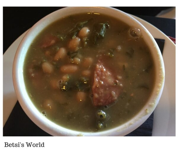 Cajun Cove Bean & Kale Soup https://betsiworld.com//cajun-cove-vero-beach-florida/