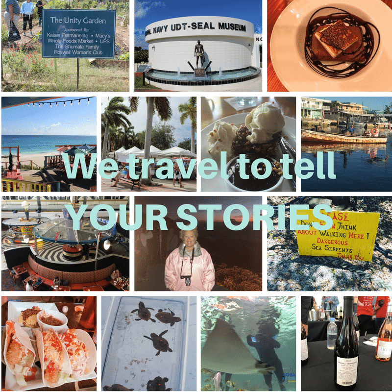 Media Kit We travel to tell YOUR STORIES