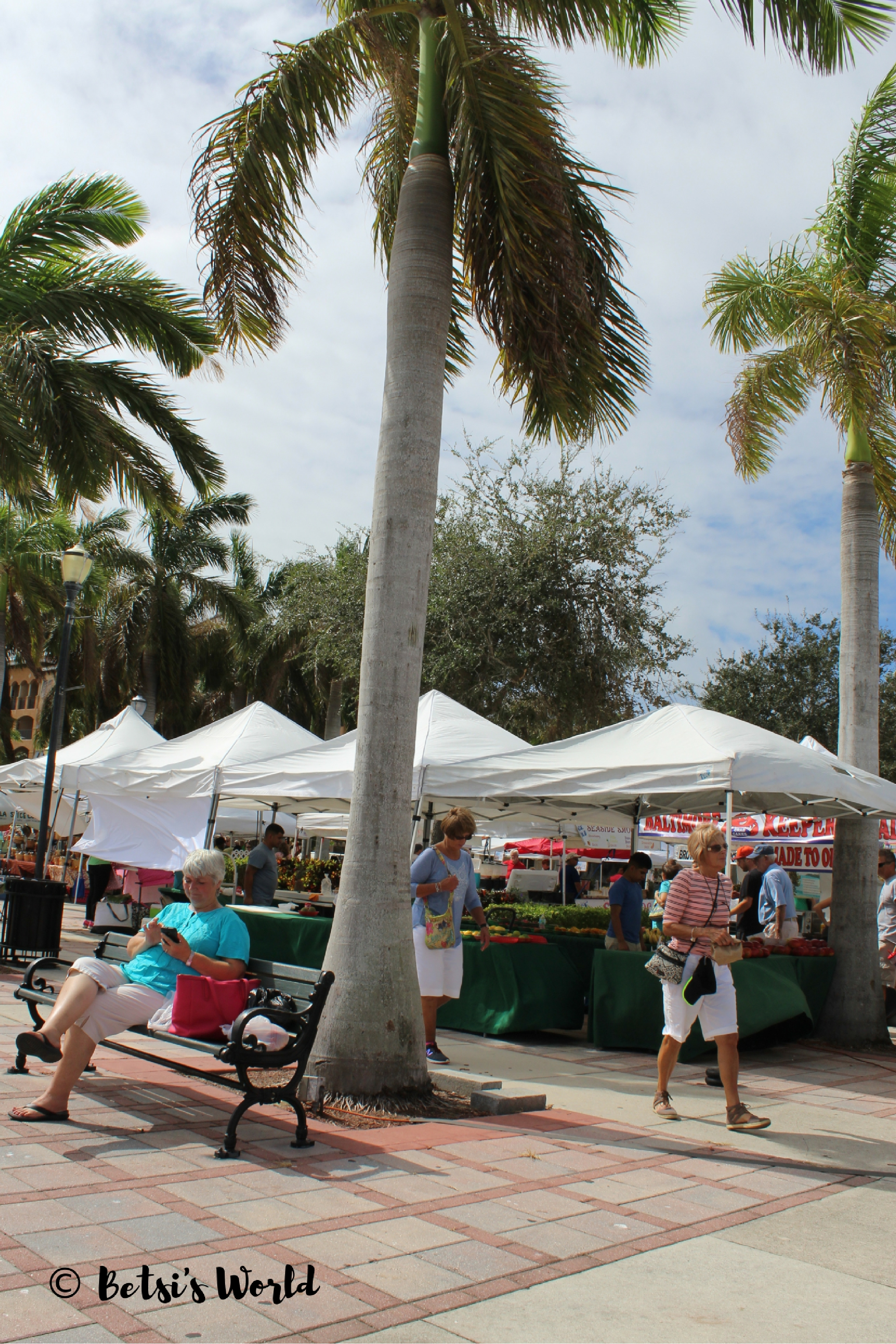 You can take in the view at the Fort Pierce Farmers' Market