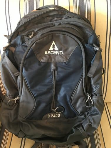 Packing Tips for Missouri Ascend Backpack D 2400