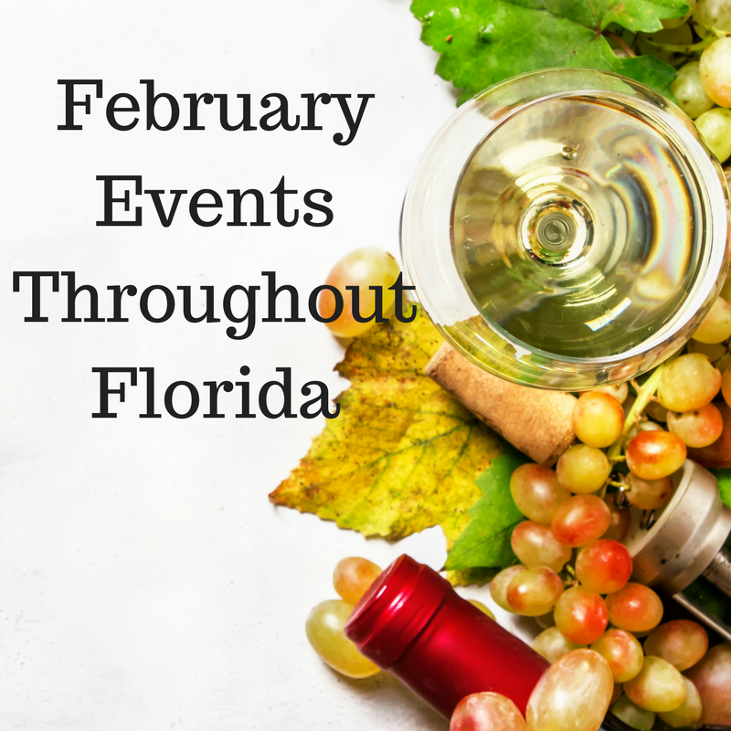 Keep up with all of Florida's February Events