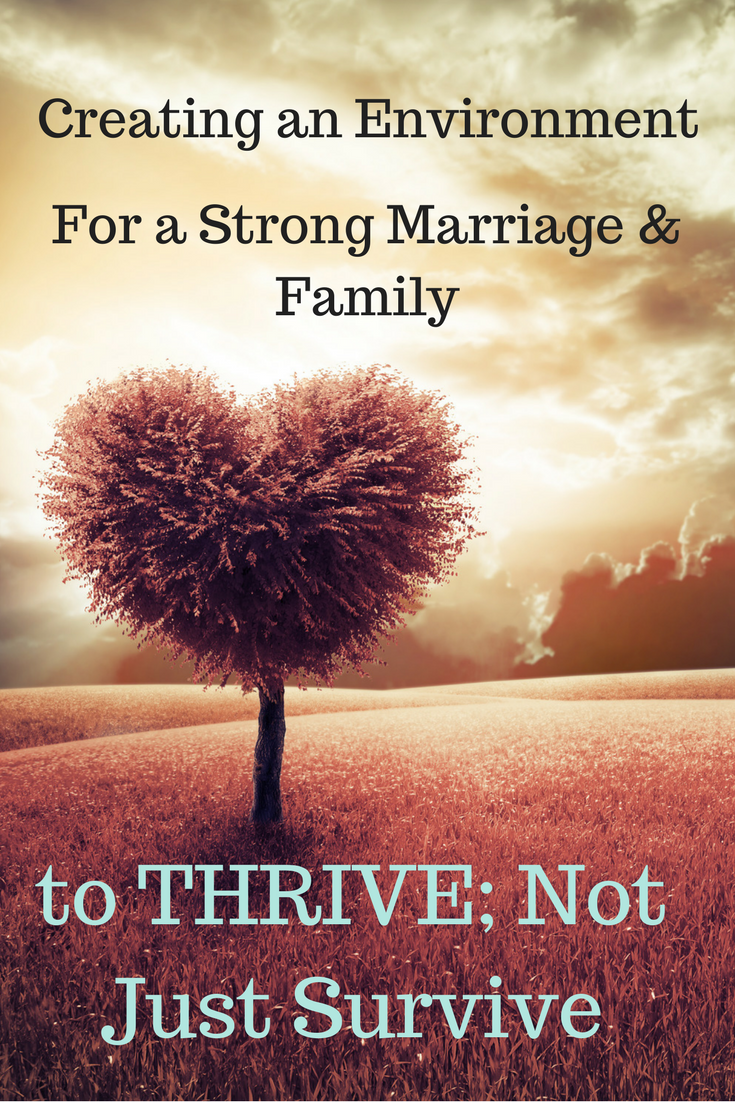 Strong families & marriages are a choice & require team work. Here are a few tips for creating an environment to thrive & a giveaway. http://bit.ly/2HbdAMf