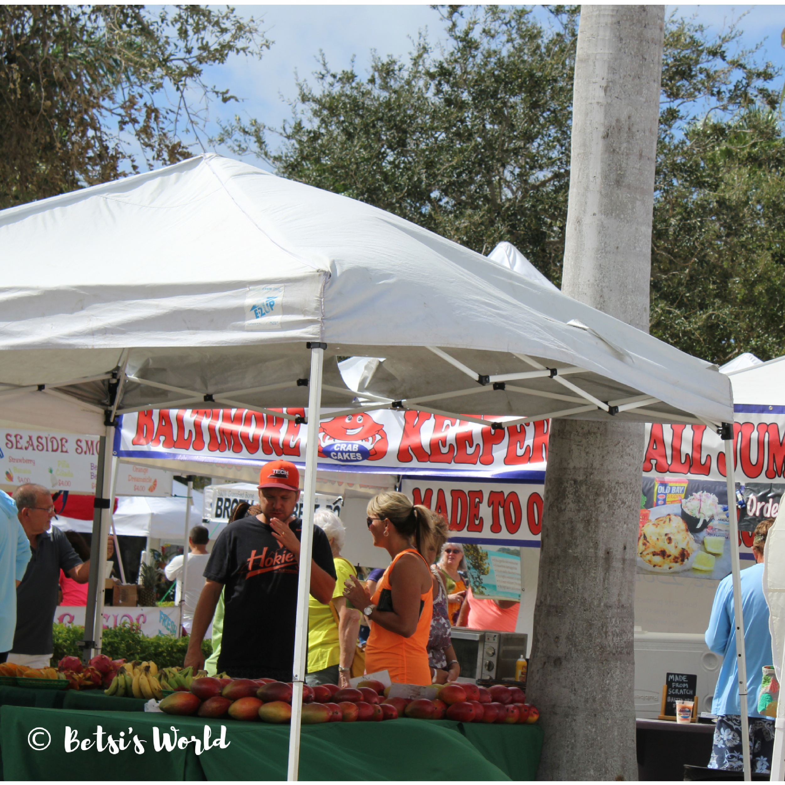 Something for the entire family at Fort Pierce's Farmers' Market