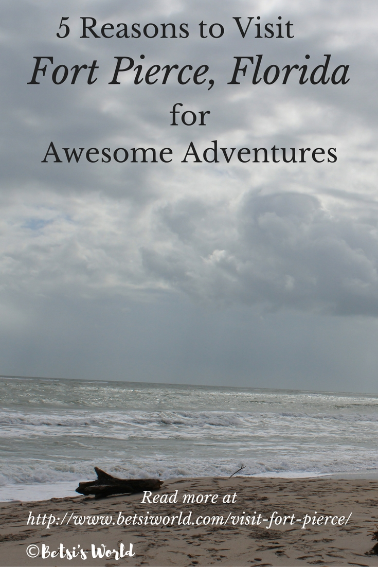Fort Pierce offers adventure experiences for everyone in the family. Here are 5 reasons to find your adventure when you visit Fort Pierce. Beach adventures, boating, diving, surfing, history – you can find it all on the Treasure Coast.