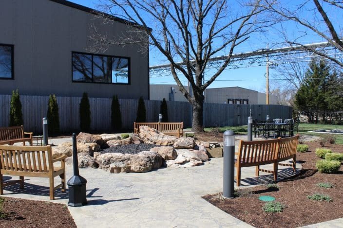 The Shared Garden of St. James Winery & Public House Brewpub, Missouri Packing Tips