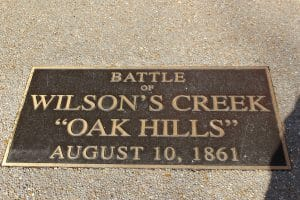 Wilson's Creek Battlefield, Missouri Packing Tips
