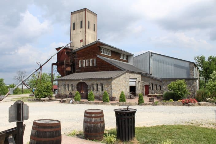 Willett Distillery, Bardstown, KY. Operating debt free gives this distilling family an advantage in exploring new avenues such as a potential bed & breakfast on the property.