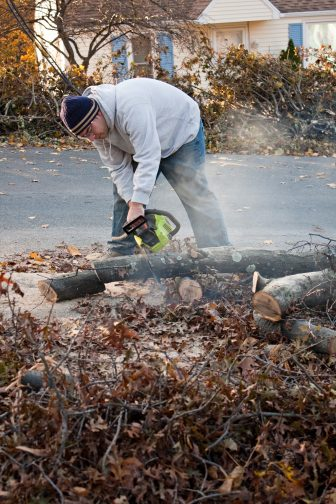 With a monster hurricane bearing down on the East Coast, the cleanup after the storm is the hardest.