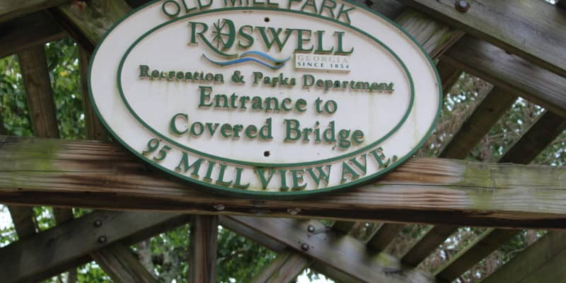 Three Day Getaway in Roswell, Georgia: The Roswell Mill