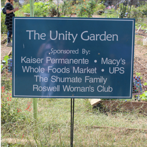 Three Day Getaway in Roswell, Georgia: The Unity Garden