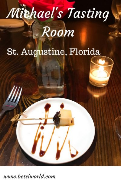 Celebrate Life & Love at Michael's Tasting Room in St. Augustine, Florida