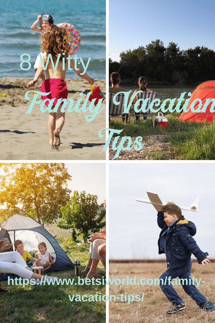 These 8 witty family vacation tips will help you plan the perfect family vacation so you can relax and keep things under control at the same time. http://bit.ly/2k8UADf