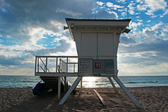 Florida Boating ~ walk across the pedestrian overpass to Ft. Lauderdale Beach and catch a few rays and play in the surf & sand. A Florida boaters paradise!