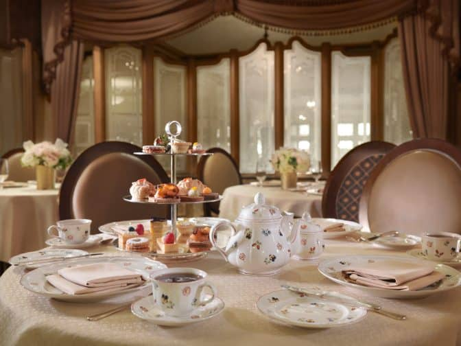 The Peabody Memphis Hotel is a grand Southern hotel, filled with tradition like afternoon tea. Peabody Hotel 2015 © Trey Clark for The Peabody Hotel
