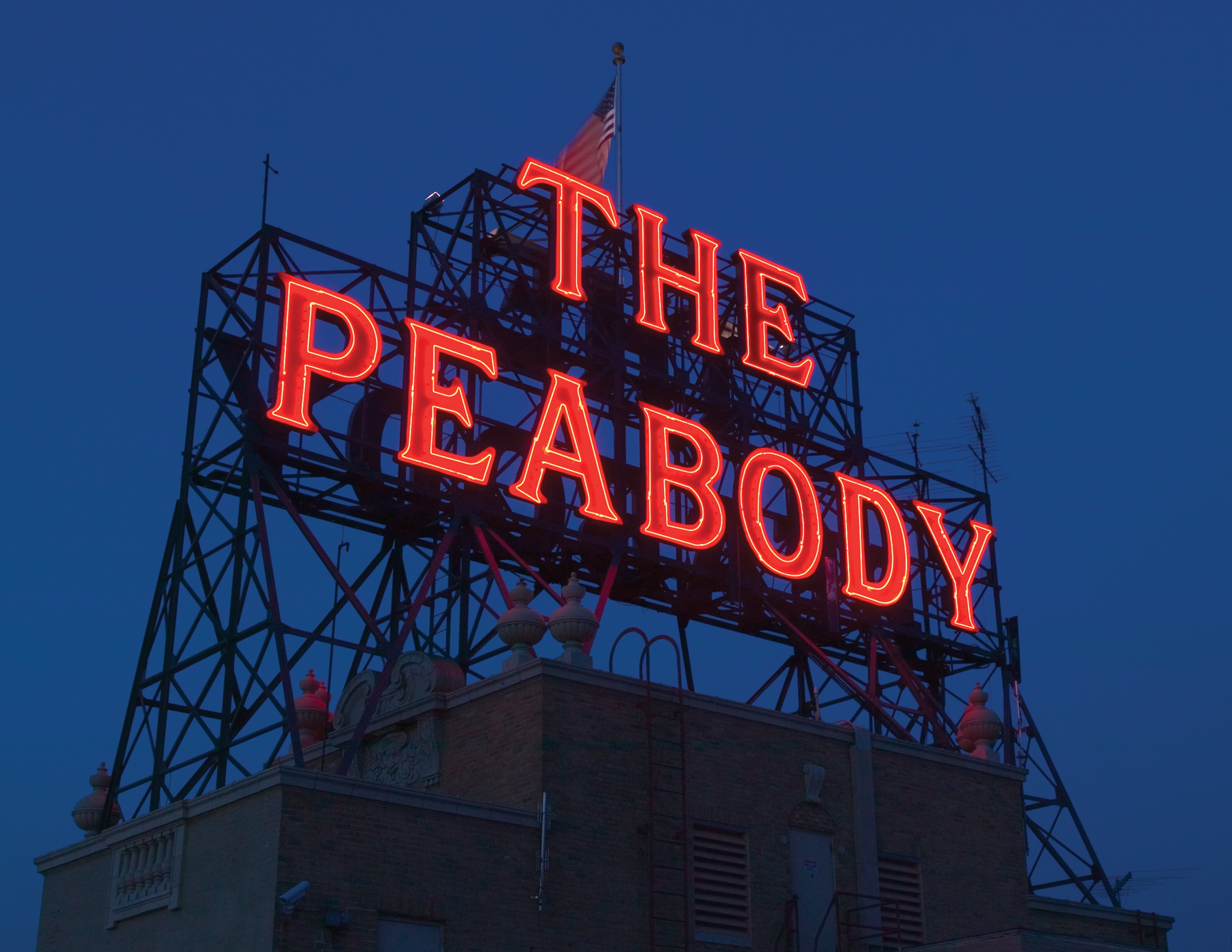 The Peabody Memphis Hotel is a grand Southern hotel, filled with tradition like afternoon tea.