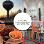 Explore all that Oxford, Mississippi offers - history, food, culture and of course, football at Ole Miss!