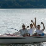 Outdoor fun on West Point Lake in LaGrange, GA