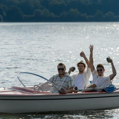 Boating on West Point Lake is the best fun for everyone.