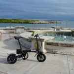 The Defiance Tools B2 Electric Bike is a life saver when traveling onboard Saltwater Gypsea - our tiny house on the water