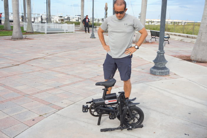 The Defiance Tools B2 Electric Bike is a life saver when traveling onboard Saltwater Gypsea. And it's small size and light weight make it easy to store.