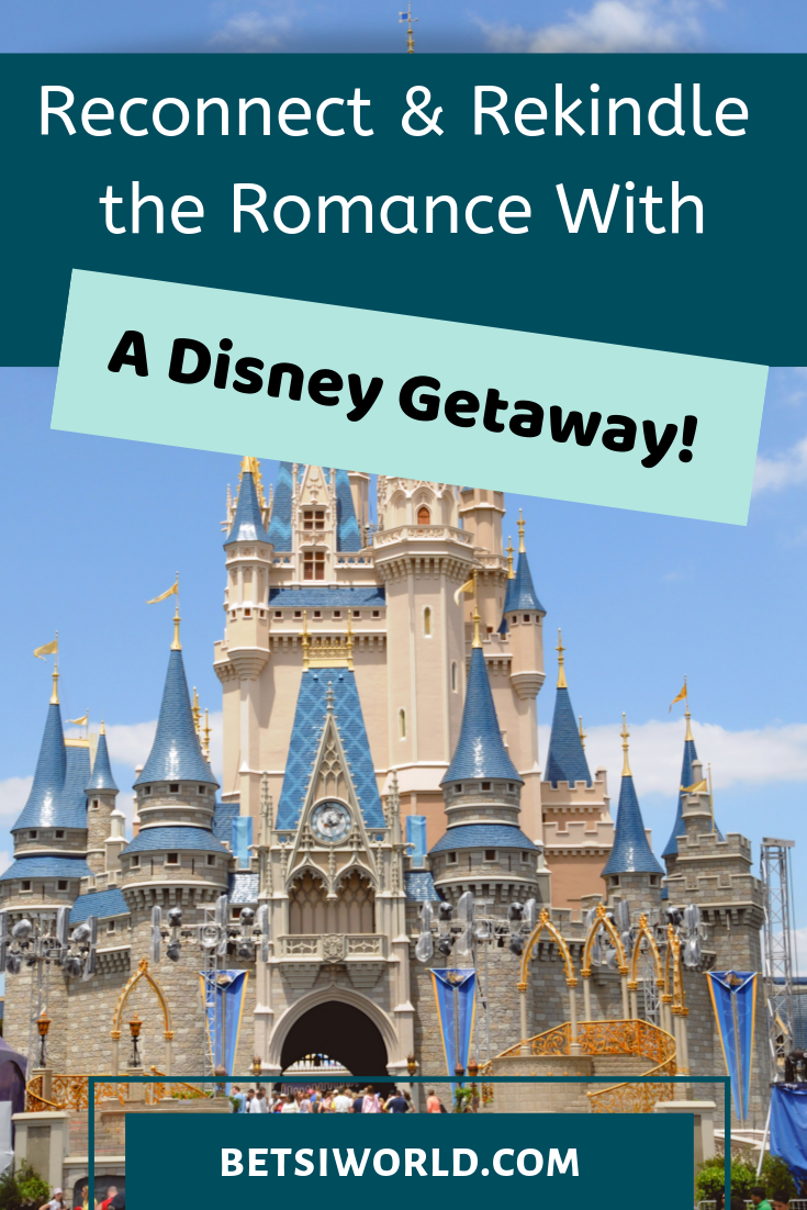 Everyone's idea of romance is a little different. Why not choose Disney for you and your sweetie and enjoy a romantic getaway. Here are our top 4 ways that a Disney getaway can help you reconnect and rekindle the romance. #Disney #romanticgetaway
