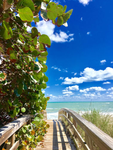 Relaxing on the beach is one of our top 10 things to do in Vero Beach, Florida Photo Courtesy of Paradise Advertising / Vero Beach, FL