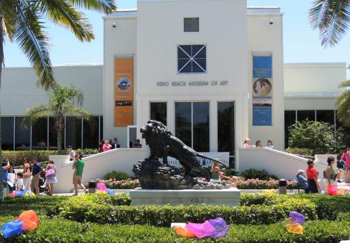 A surprising find on our top 10 things to do in Vero Beach is the Vero Beach Art Museum. Photo Courtesy of Paradise Advertising / Vero Beach, FL