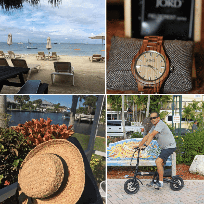 Collabrative work with Sandals Luxury Vacations, Jord Wood Watches, Tenth Street Hats, and C Larboard