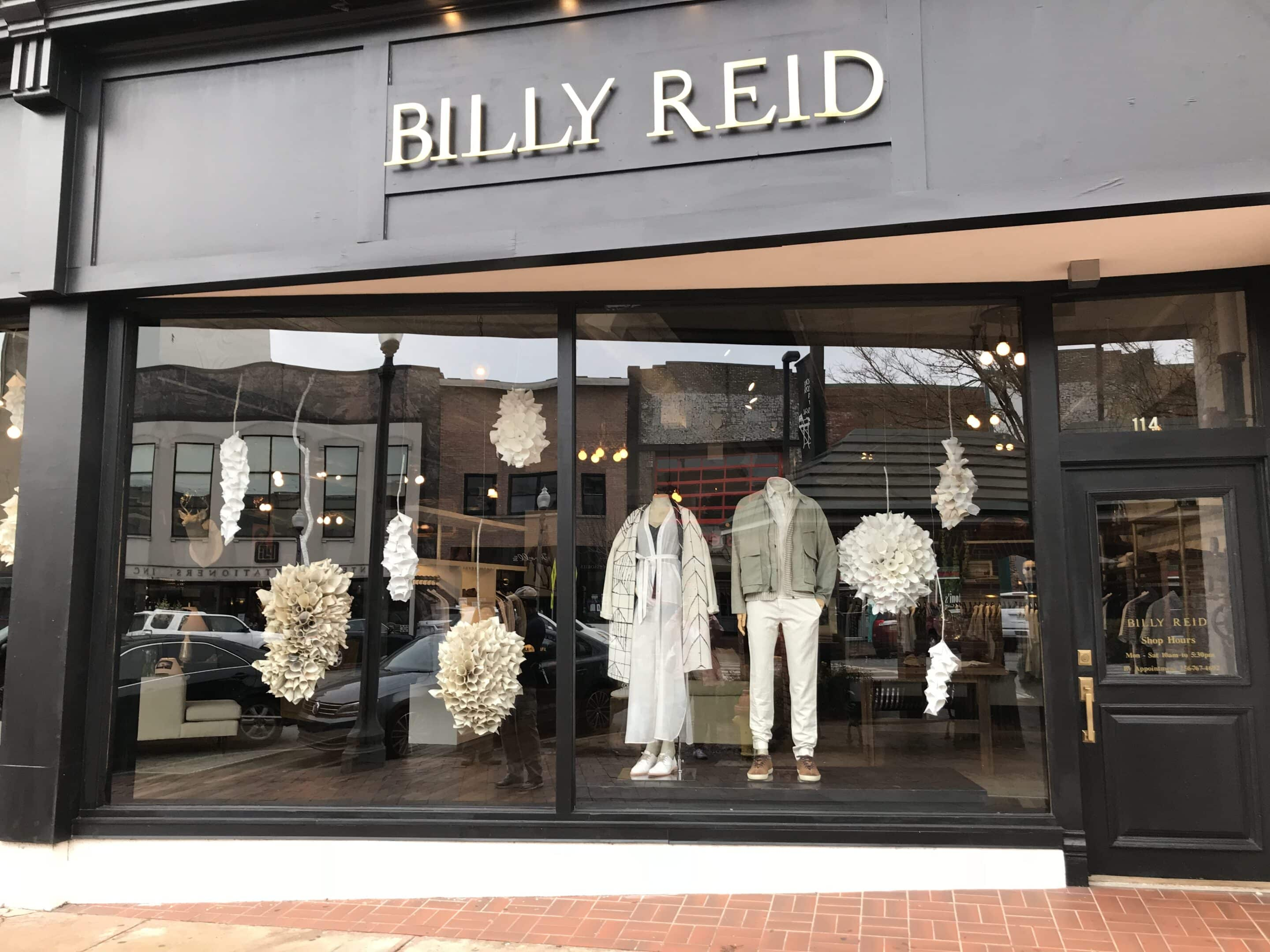 Billy Reid's shop in Florence, Alabama