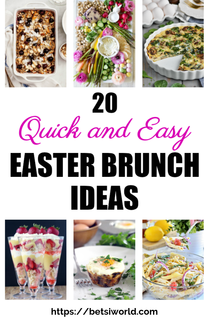 Roundup photo of Quick and Easy Brunch Ideas