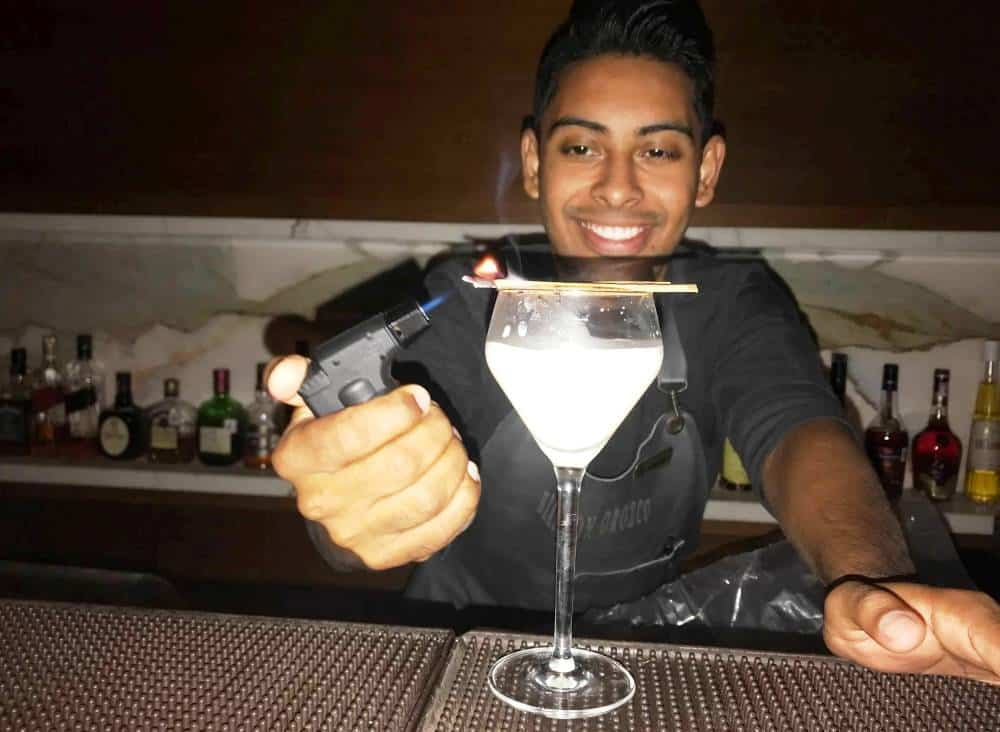 Grand Velas bartenders are master mixologists - test their skills out during your Grand Velas getaway
