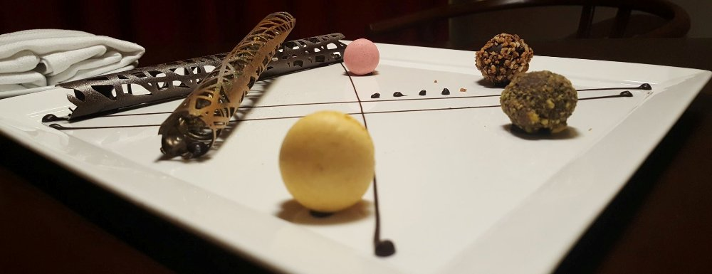 Chocolate art is an evening occurance on your Grand Velas getaway