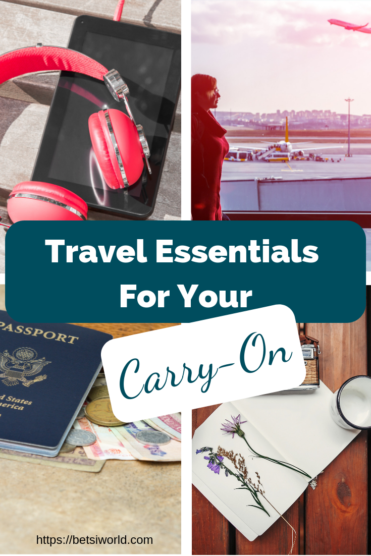 Travel Essentials for Your Carry-On Headphones, Passports, Electronics