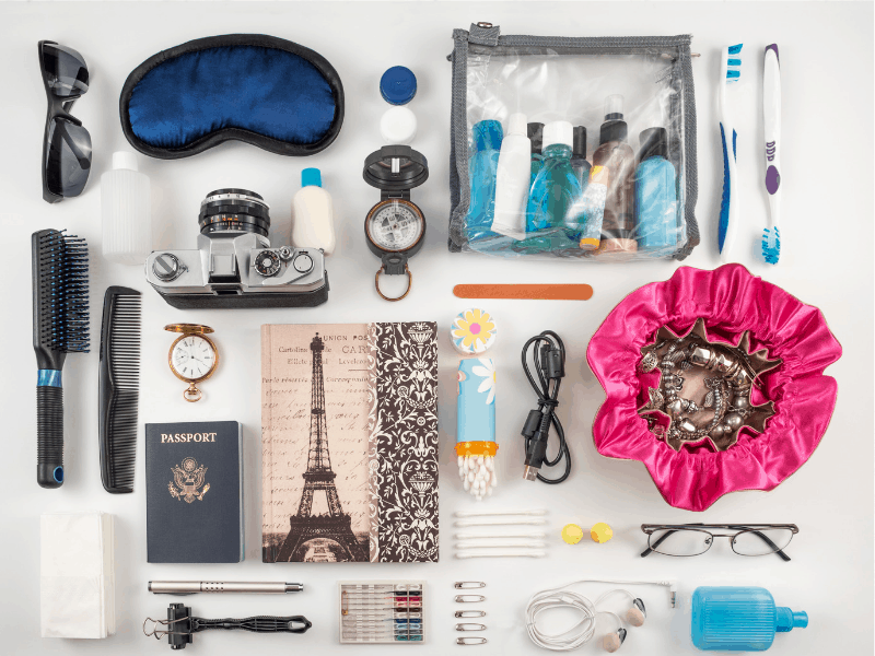 Ten Essential Things to Pack for Traveling