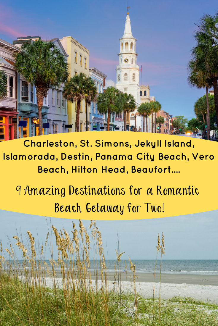 Need to escape to the beach? These 9 Southern Beach Getaways are the answer! Plan your romantic beach getaway to the South today. #romanticbeachgetaway #beachgetawayfor2 #escapetothebeach #traveltothebeach