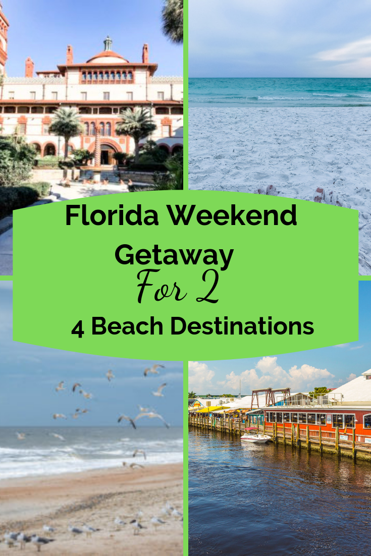 Looking for a weekend getaway with your special someone? These four #Florida weekend getaways for two will have you booking your getaway! You can explore, hit the beach, grab a SUP and paddle the waterways, or relax with a soothing spa weekend. #Floridagetaway #weekendgetawaysforcouples #couplesgetaways #Floridagetawaysfortwo