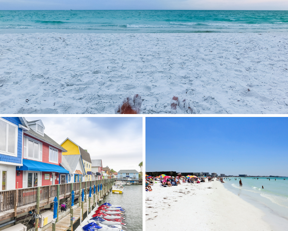 siesta key beach and cottages on the water, a romantic place for a florida weekend getaway