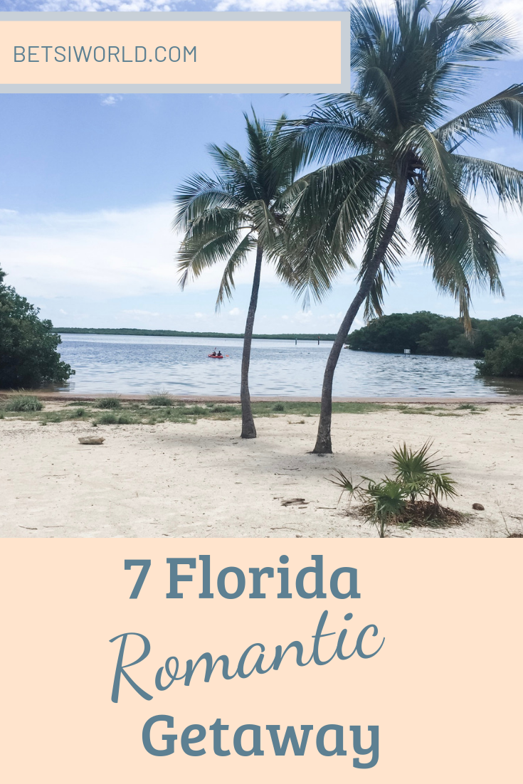 When the stress of life closes in it's time for a romantic Florida getaway. Relax, recharge, and reconnect with these 7 Florida destinations. A perfect romantic getaway for two. #floridaromanticgetaway #romanticgetawaysinFlorida