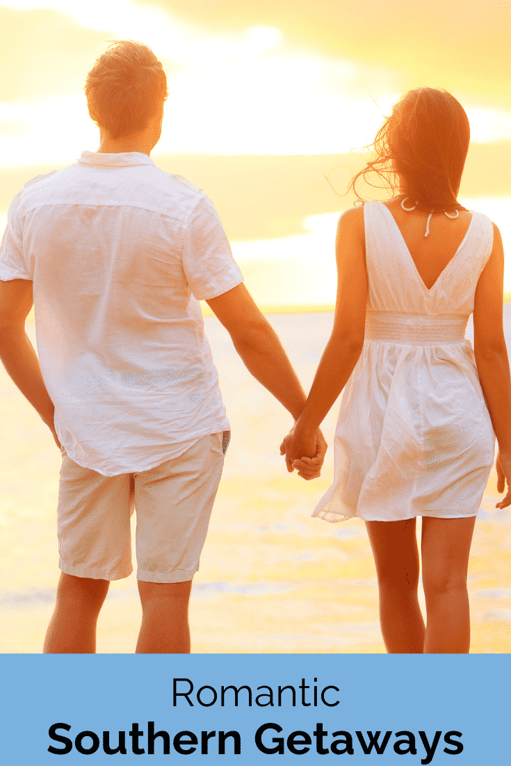Romantic Southern Getaways at the Beach
