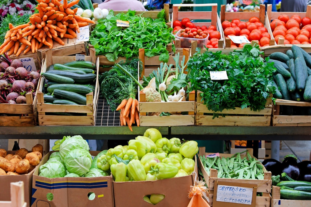 Image showing farmers market produce