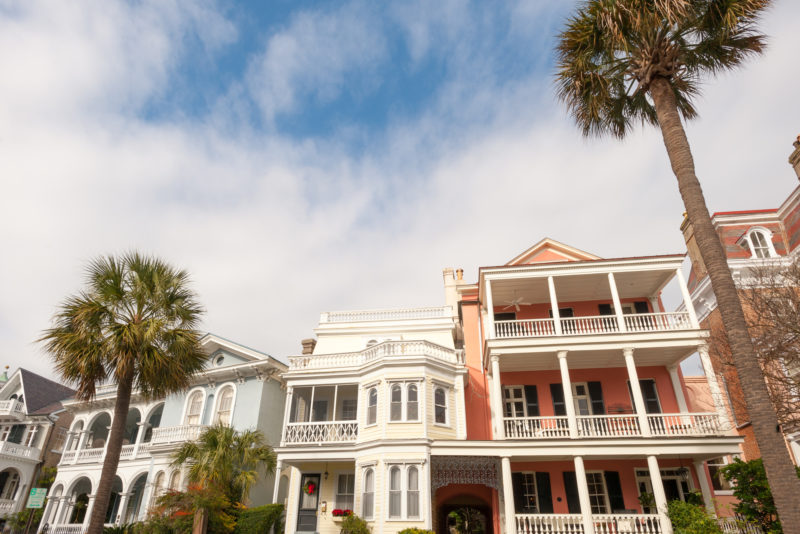 Historical homes in Charleston