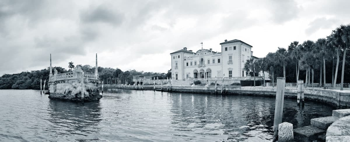 The Vizcaya Museum and gardens a fun place to visit during your romantic miami getaway