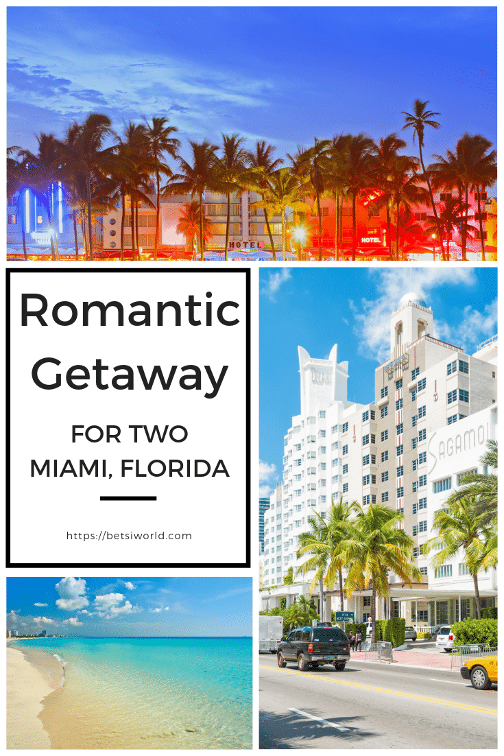 A romantic getaway to Miami, FL is filled with art, food, adventure, and luxurious hotels. You can relax at one of Miami's luxury hotels, relax and recharge with your loved one as you explore this vibrant South Florida city. #couplesgetaway #southernromanticgetaway #floridagetaway