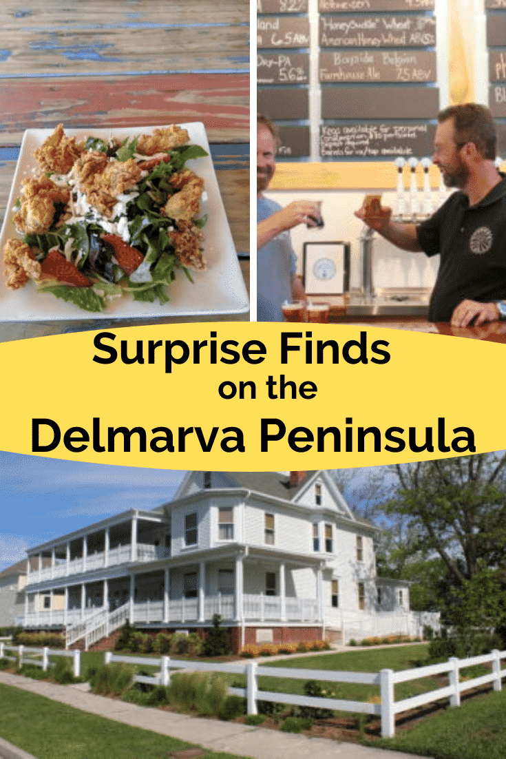 food, beer and bed and breakfasts on the Delmarva Peninsula
