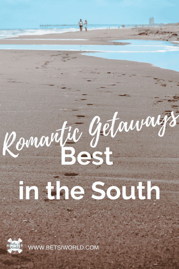 These top romantic getaways in the south for couples won't break the bank and are filled with romance. From Virginia to North Carolina, South Carolina, Georgia, and Alabama you're sure to find the perfect romantic escape. #romanticsoutherngetaways #couplesromance #couplesromanticgetaway #couplesgetaway #affordableromanticgetaways