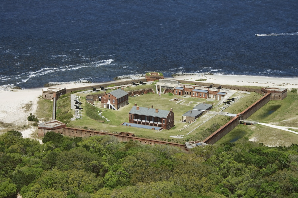 Fort Clinch, a great place to visit during your romantic getaway to Amelia Island Florida