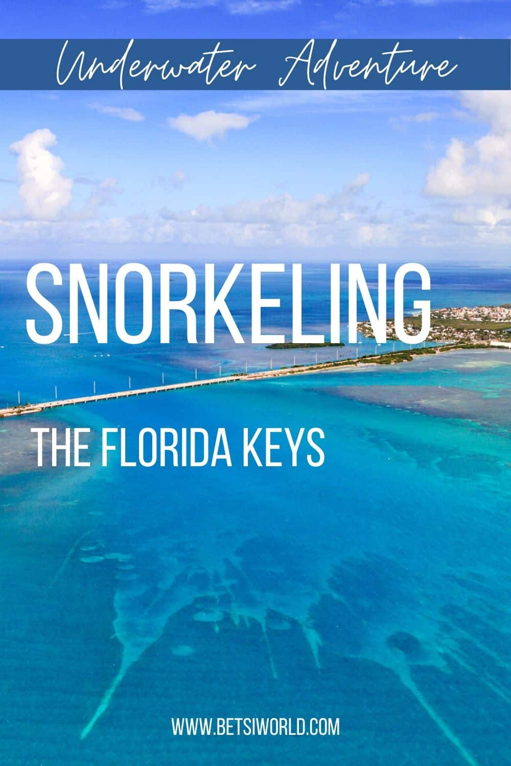 Top Places to Snorkel in the Florida Keys | When you are looking for things to do in Florida while traveling, you absolutely have to add snorkeling to your travel agenda. If you are looking for an underwater adventure, or you have snorkeling on your bucket list, these places are for you! For more travel destinations, travel tips, packing hacks and more head over to www.betsiworld.com #travel #florida #trip