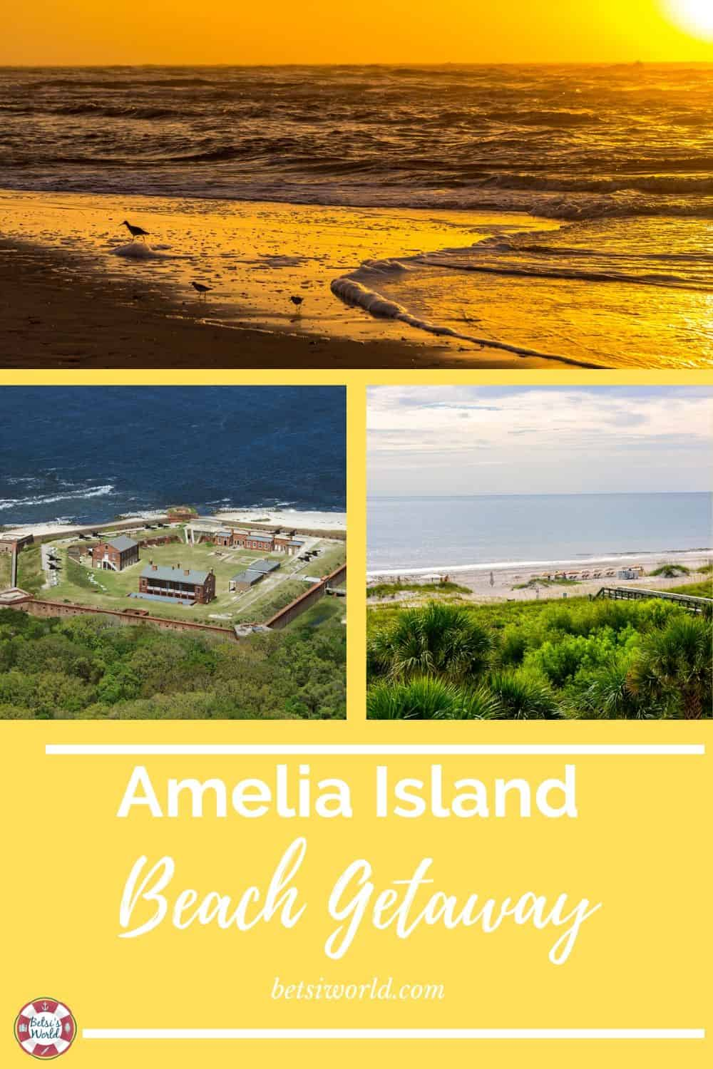 If you're looking for a romantic beach getaway in Florida, consider Amelia Island. This laid-back beach town is great for couples looking for a quick weekend away. #beachgetaway #couplesweekendgetaway #beachgetaway