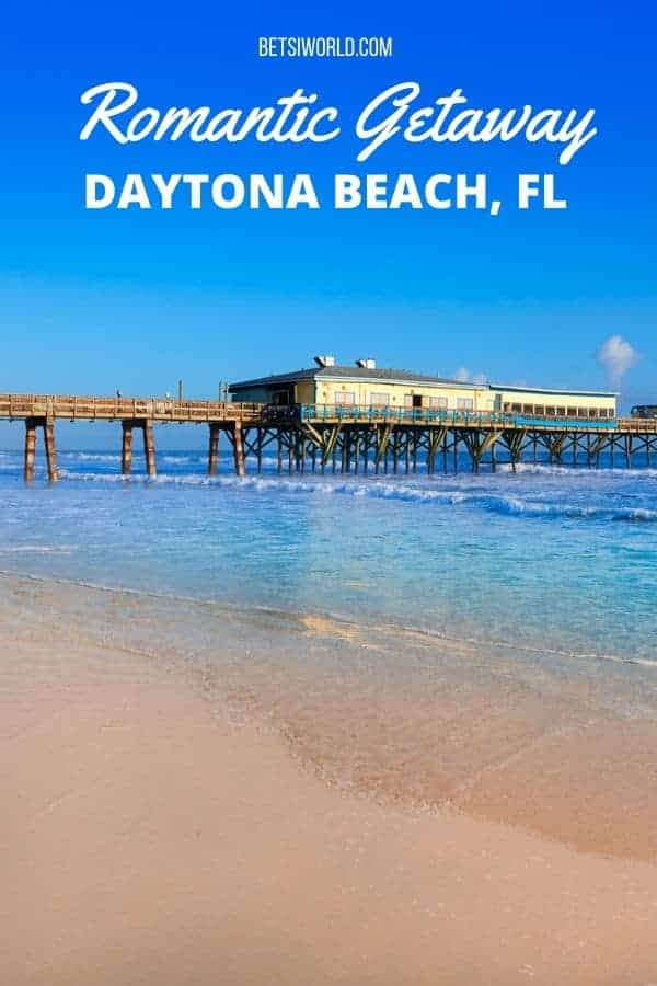 Daytona Beach is home to NASCAR racing, and you can drive on the beach, but there is so much more! Romantic sunset sails with your love, walking hand-in-hand on the beach, a dinner for two over the water, spectacular luxury hotels, eco-tours, and more await you on a romantic getaway to Daytona Beach! For more romantic Florida getaway ideas, head over to www.betsiworld.com